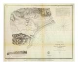 Santa Barbara, California, c.1853 Posters