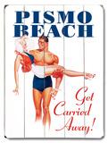 Pismo Beach Wood Sign