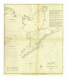 Galveston Bay, Texas, c.1852 Poster
