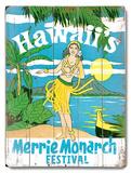 Merrie Monarch Festival Wood Sign