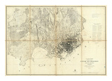 City of San Francisco and Its Vicinity, California, c.1859 Prints