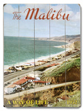 The Malibu Wood Sign