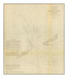 Hatteras Inlet, North Carolina, c.1853 Poster