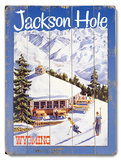 Jackson Hole Wood Sign