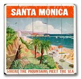 Santa Monica Wood Sign