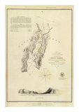 Catalina Harbor, California, c.1852 Posters