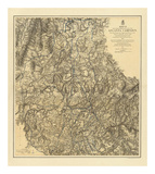 Civil War Military Operations of the Atlanta Campaign, c.1877 Print