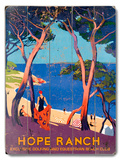 Hope Ranch Wood Sign