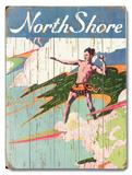 North Shore Wood Sign