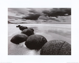 Boulders on the Beach Prints by L. Dixon