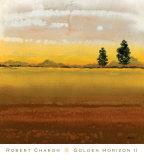 Golden Horizon II Posters by Robert Charon