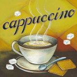 Cappuccino Prints by L. Morales