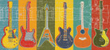 Guitar Hero Poster von M.J. Lew