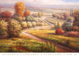 Vineyard View II Posters by Roberto Lombardi