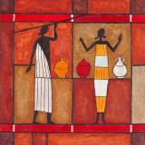 Two Housewifes Prints by Jerome Obote