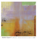 Kalahari Square I Poster by Hilda Stamer