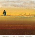 Golden Horizon I Prints by Robert Charon