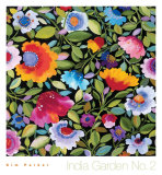 India Garden Textile II Posters by Kim Parker