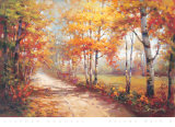 Autumn Walk II Art by Stephen Douglas
