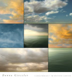 Cloud Medley I Prints by Donna Geissler