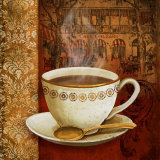 Cafe du Boulevard I Prints by Conrad Knutsen