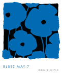 Blues, May 7 2009 Kunstdrucke von Donald Sultan