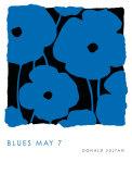Blues, May 7 2009 Kunstdrucke von Donald Sultan