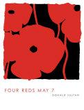 Four Reds, May 7 2009 Kunstdrucke von Donald Sultan