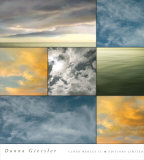 Cloud Medley II Poster by Donna Geissler