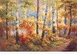 Autumn Walk I Posters by Stephen Douglas