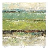 Living Green I Kunstdrucke von Michael King