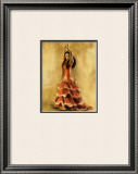 Flamenco Dancer I Prints by Caroline Gold