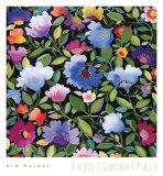 India Garden Textile I Affiches par Kim Parker