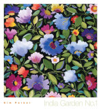India Garden Textile I Prints by Kim Parker
