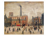 Coming Home from the Mill Premium Giclee Print by Laurence Stephen Lowry