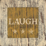 Laugh Print by Warren Kimble