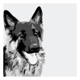 Shepherd Premium Giclee Print by Emily Burrowes