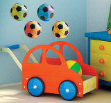 Pop Art Soccer Wall Decal
