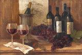 Vintage Wine Affiche par Albena Hristova