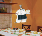 Pasta Bistro Chef Wall Decal