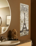Memories Of Paris Wall Decal
