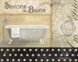 Savons de Bains II Poster von Avery Tillmon