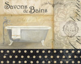 Savons de Bains II Posters by Avery Tillmon