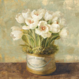 Hatbox Tulips Art by Danhui Nai