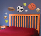 Sports Star Wall Decal