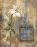 Lily and Tile Prints by Silvia Vassileva