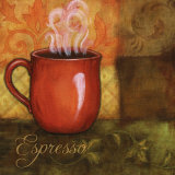 Espresso Kunstdrucke von Maureen Mcreynolds