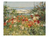 Ocean View Gicle-tryk af Childe Hassam