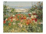 Ocean View Giclee-tryk i høj kvalitet af Childe Hassam