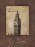 Big Ben Prints by Stephanie Marrott